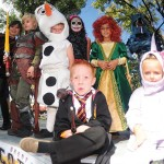Kids dressed up for Halloween in Prescott, AZ