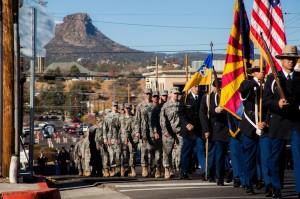 Prescott Arizona's Veterans Day Parade